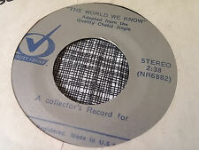 The World We Know 45 From the Quality Chekd Jingle NR6882 Radio Jingle