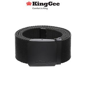 KingGee Mens Originals Stretch Belt Ultra Comfort Flexibility Work Buckle K61231