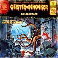 GEISTER-SCHOCKER - GRABESKÄLTE-VOL.50 (JUBILÄUMSAUSGABE)  CD NEU MASUTH,ANDREAS