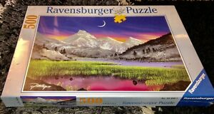 FACTORY SEALED NEW 2008 RAVENSBURGER PUZZLE EVENING MAGIC 500pc No.14-580-5 LOOK