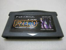 7-14 Days to USA. F ZERO FOR GAMEBOY ADVANCE. New Save Battery. Japanese Version