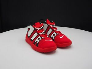 """Nike Air More Uptempo """"University Red"""" CD9404-600 Toddler size 10C"""