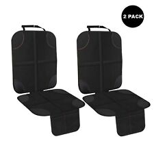 infant Car Seat Protector for 2 Pack child baby kids auto waterproof black cover