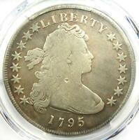 1795 Draped Bust Small Eagle Silver Dollar $1 - PCGS VG Detail - Rare Coin!