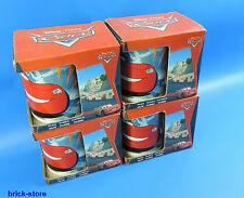 STOR Disney Pixar Cars / Taza / Taza de porcelana en Regalo Set/4 Piezas