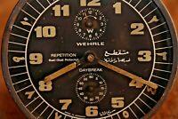 Vintage Alarm Clock Wehrle (متقطع ضد الصدأ والأتربة) Dust+rust Protected #153