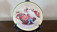 Gloria Vanderbilt Heirloom Collection Romance in Bloom Plate Limited Edition