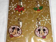 Tokyo DisneySea Christmas 05 Nutcracker Mickey Minnie Fastener Charm Disneyland