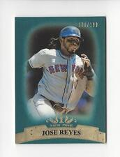 2011 Topps Tier One Blue #37 Jose Reyes Mets /199
