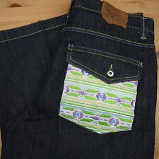 COOGI Australia Mens 38 Dark Indigo Relaxed Jeans