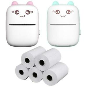 Mini Portable For Mobile Phone Wireless Bluetooth-compatible Thermal Printer