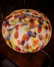 BIG VINTAGE TABLE LAMP SPHERE MURRINE GAE AULENTI IDEA  GEACOLOR 1960/70
