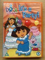 Dora The Explorer - It's a Party Nickelodeon Pre-School Children's DVD