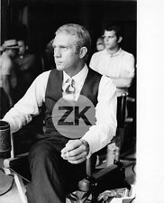 STEVE McQUEEN Costume THOMAS CROWN AFFAIR Elégance STEINBERG Fashion Photo 1968