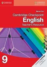 NEW! Cambridge Checkpoint English Teacher's Resource CD-ROM 9 (2014, CD-ROM)
