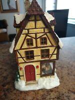 Vintage Berta Hummel Hawthorne Village Lighted House Furry Friend Pet Shoppe