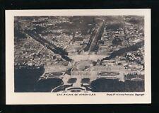 France Paris Isle de France Palais de VERSAILLES early aerial c1930/50s? RP PPC