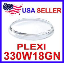 330W18GN PLEXI Crystal for Vintage Seiko 6139 Chronograph Watch 6139-6xxx Pogue