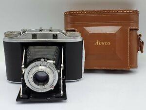 """Vintage Ansco Speedex Special """"R"""" (Agfa Isolette III) Folding Rangefinder Camera"""