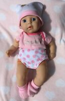 PINK DOLL CLOTHES SET, TOP, HAT, BOOTIES FOR MY FIRST BABY ANNABELL DOLL