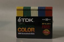 "TDK 3.5"" HD 30/Pack - SEALED"