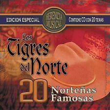Herencia Musical: 20 Norte€as Famosas by Los Tigres del Norte (CD, Oct-2004,...