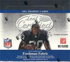 2008 Leaf Certified Materials Hobby Football Box