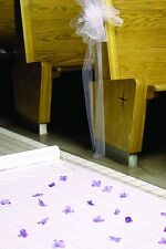 NEW White Aisle Runner Wedding Hortense B Hewitt