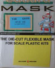 Eduard 1/48 EX419 Canopy Mask for the Hobby Boss RF(P)-80 Shooting Star kit