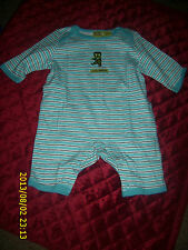 HALLOWEEN COVERALL OUTFIT ONSIE WITH LEGS LITTLE MONSTER INFANT BABY CHILD KID