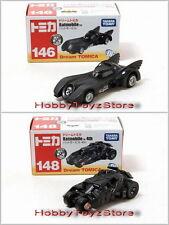 Dream Tomica Tomy No.146 Batmobile & No.148 Batmobile 4th Diecast Vehicles Set