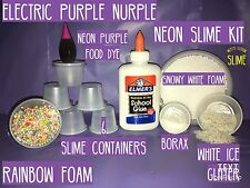 Elmers Glue Make Your Own Slime Kit DIY Gift With Elmer's White Glue Rainbow