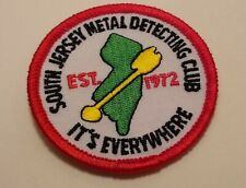 Metal Detecting Club Patch - South Jersey Metal Detecting Club - SJMDC