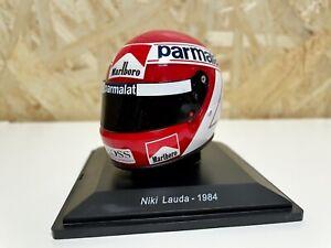 Calcas Casco Niki Lauda 1984 1:5 de Spark