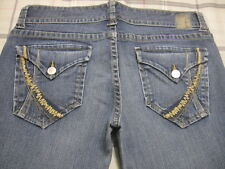 !it Jeans Sophie 30 X 31 Short Low Rise Flare Stretch 10 s m m2 FLAP~!!
