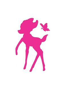 Bambi Style Vinyl Sticker / Bottle / Tablet / Laptop / Fun Decal