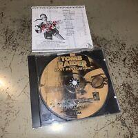 Tomb Raider: The Last Revelation (Sega Dreamcast, 2000) Disc w/ Damaged Manual