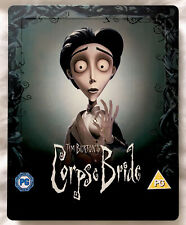 Corpse Bride Limited Edition Blu-ray Steelbook UK. Tim Burton  *Sold Out* OOP