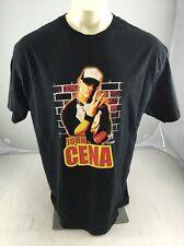 VTG 2004 John Cena you can't C me black graphic Tshirt Mens XL WWE Wrestling