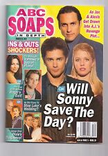 ABC SOAPS IN DEPTH GENERAL HOSPITAL WILL SONNY SAVE THE DAY MARCH 2002