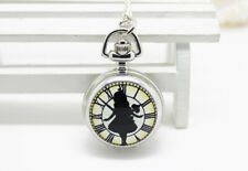Lovely Alice in Wonderland  Necklace Watch