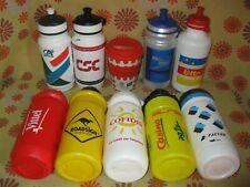 x10 Ancien BIDON CYCLISME US POSTAL CASINO AG2R CSC COFIDIS Bottle Cycling Team