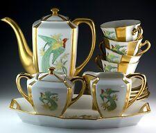 Vintage 14 Pcs. H&C Schlaggenwald PA Arzberg Tea Pot Set Czechoslovakia Bavaria
