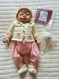 ASHTON DRAKE GALLERIES SO TRULY REAL 'ALL DOLLED UP EMILY' BABY DOLL, LINDA WEBB