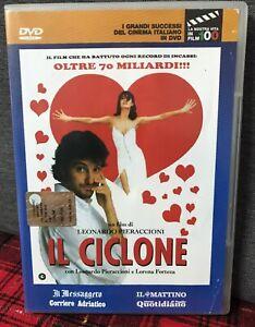 IL Ciclone DVD Editoriale Pieraccioni Ceccherini Estrada Forteza Come Foto N