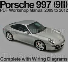 Porsche 997 2009 to 2012 Workshop, Service and Repair Manual Download