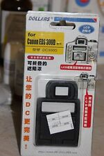 CANON EOS 300D DSLR CAMERA LCD HOOD AND SCREEN PROTECTOR BNIB