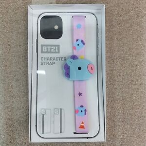 BT21 BABY MANG Cell Phone Strap Holder Unopened Official LINE FRIENDS Merch