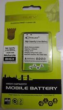 Philex Motorola Droid X2 X 2 Battery Bh6x BH 6x Bh-6x 3.7v