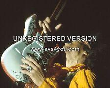 "Jimi Hendrix 10"" x 8"" Photograph no 14"